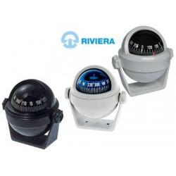 Navigointikompassi Riviera Stella BS2 Musta kiinnikkeellä