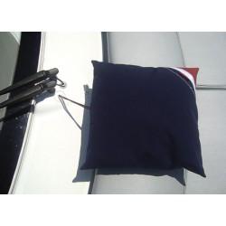 Comfortabel kussen van acrylstof 50 x 50 cm Blauw...