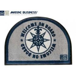 Tervetuloa matto puolikuu sininen 70 x 50