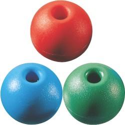 Sininen pallo terminaalin tai 4 Mm.