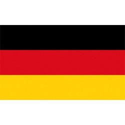 Saksan lippu 20x30 cm
